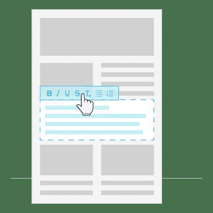 Newsletter-erstellen_Text_formatieren