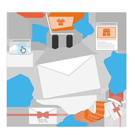 Grafik_Newsletter-versenden_Lifecycle-Mailings