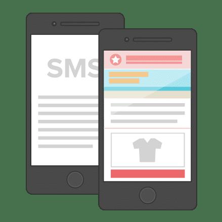 Grafik_Newsletter-versenden_SMS-Marketing