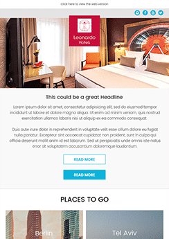 exemple newsletter Immobilier
